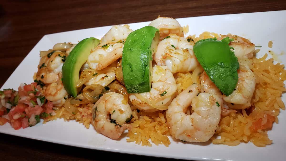 136. Camarones Al Ajillo (Shrimp)