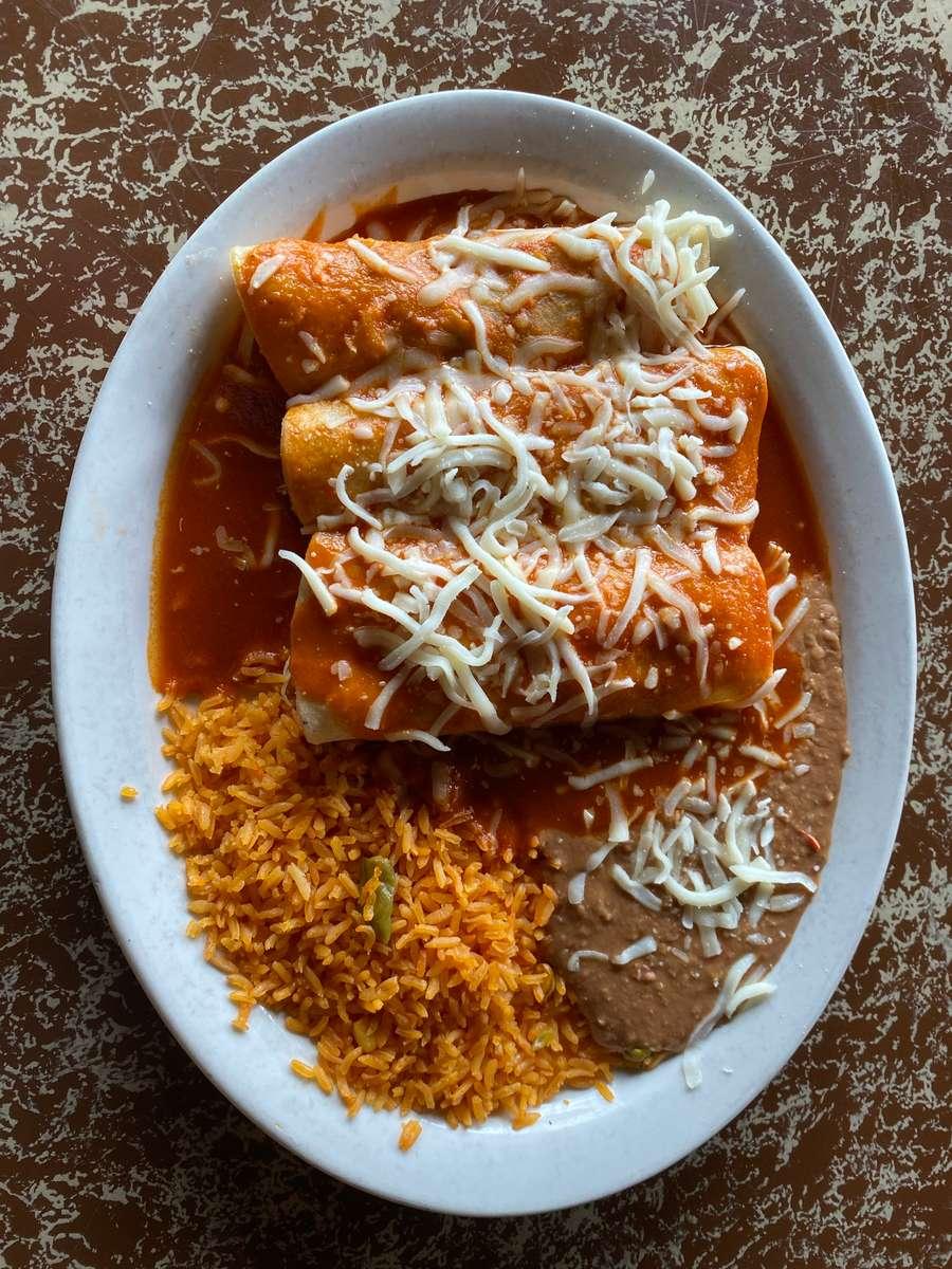 38. Enchiladas Monterrey