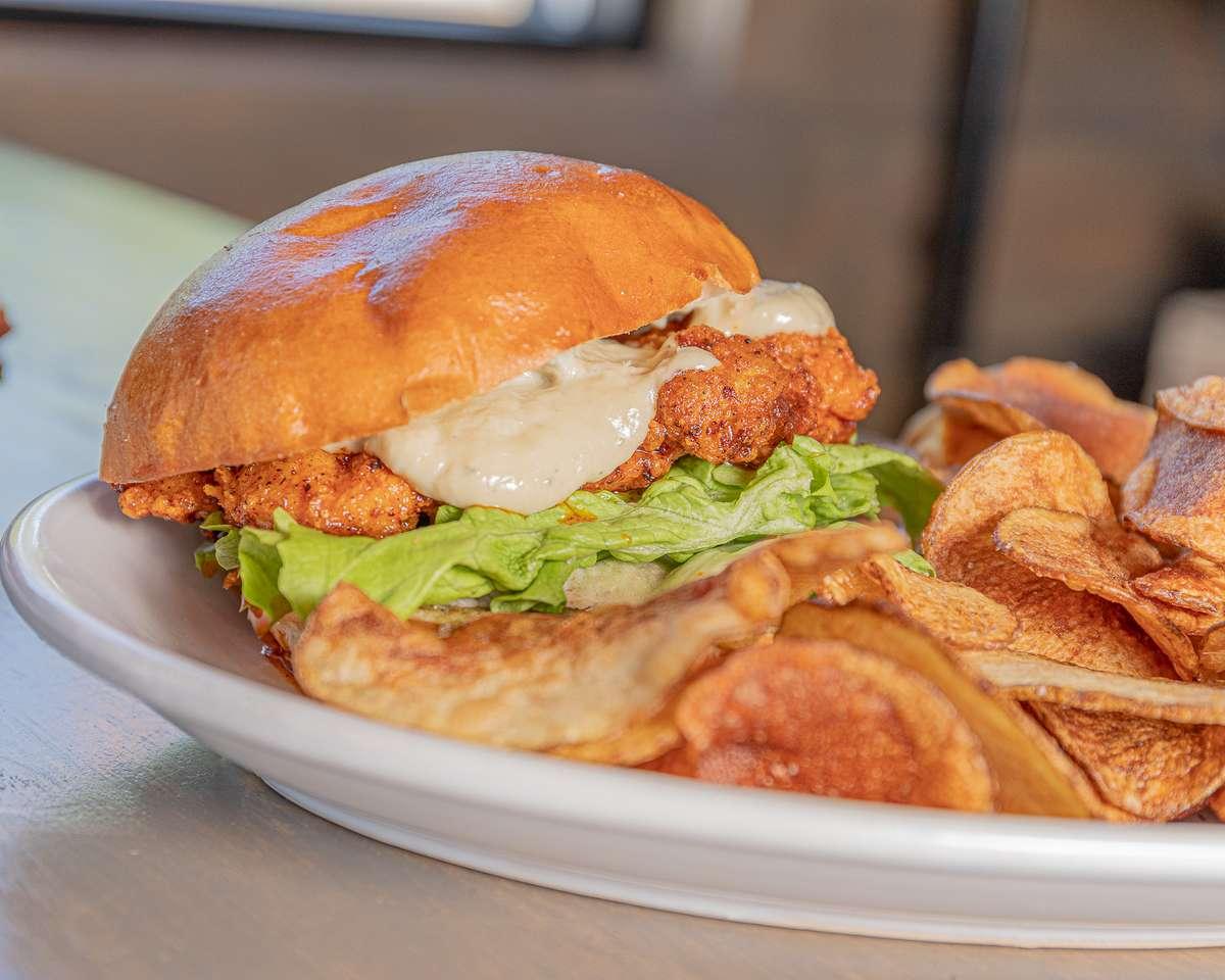Lunch Nashville Chicken Sandwich