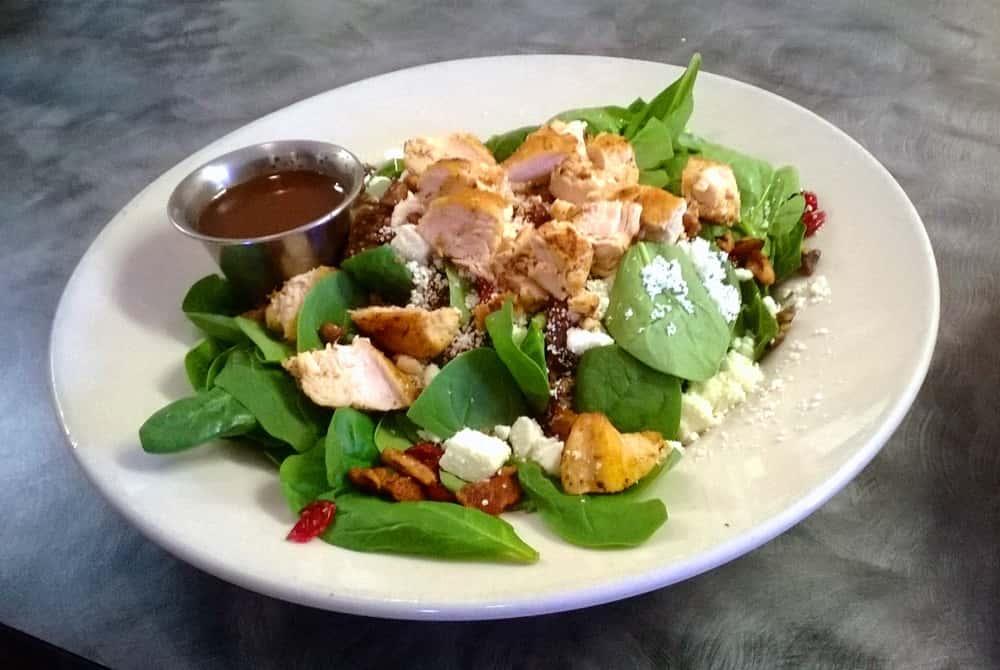 The Napa Spinach Salad