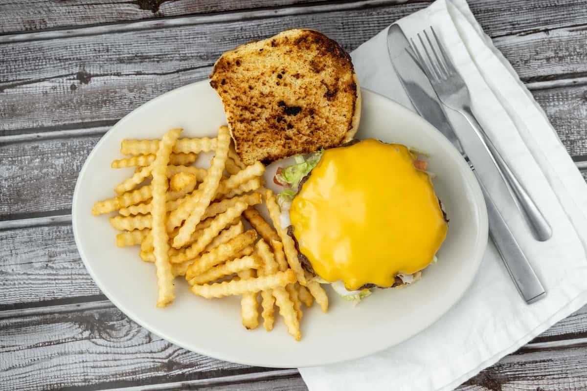Homemade Hamburger*
