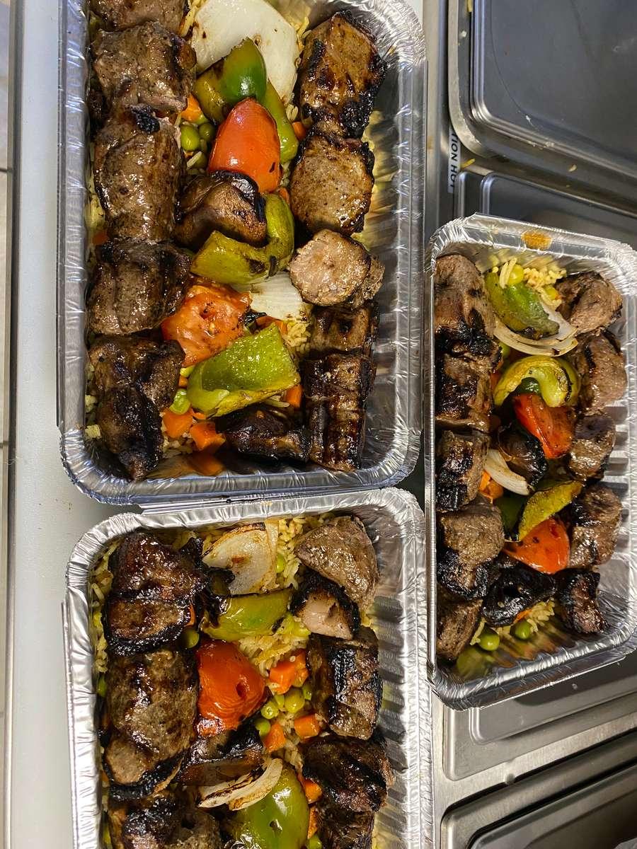 Chicken Kebab (halal)