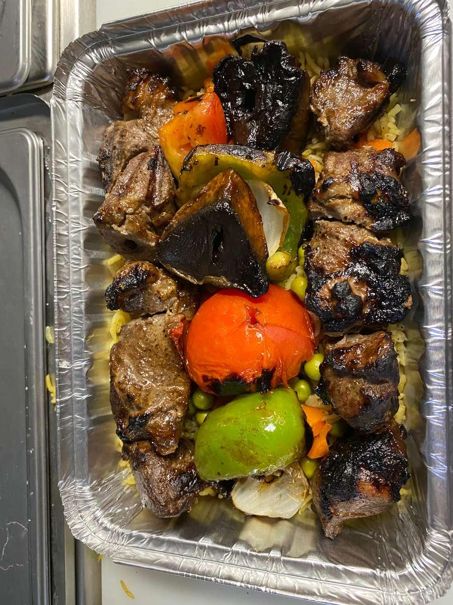 lamb Shish Kebab (halal)