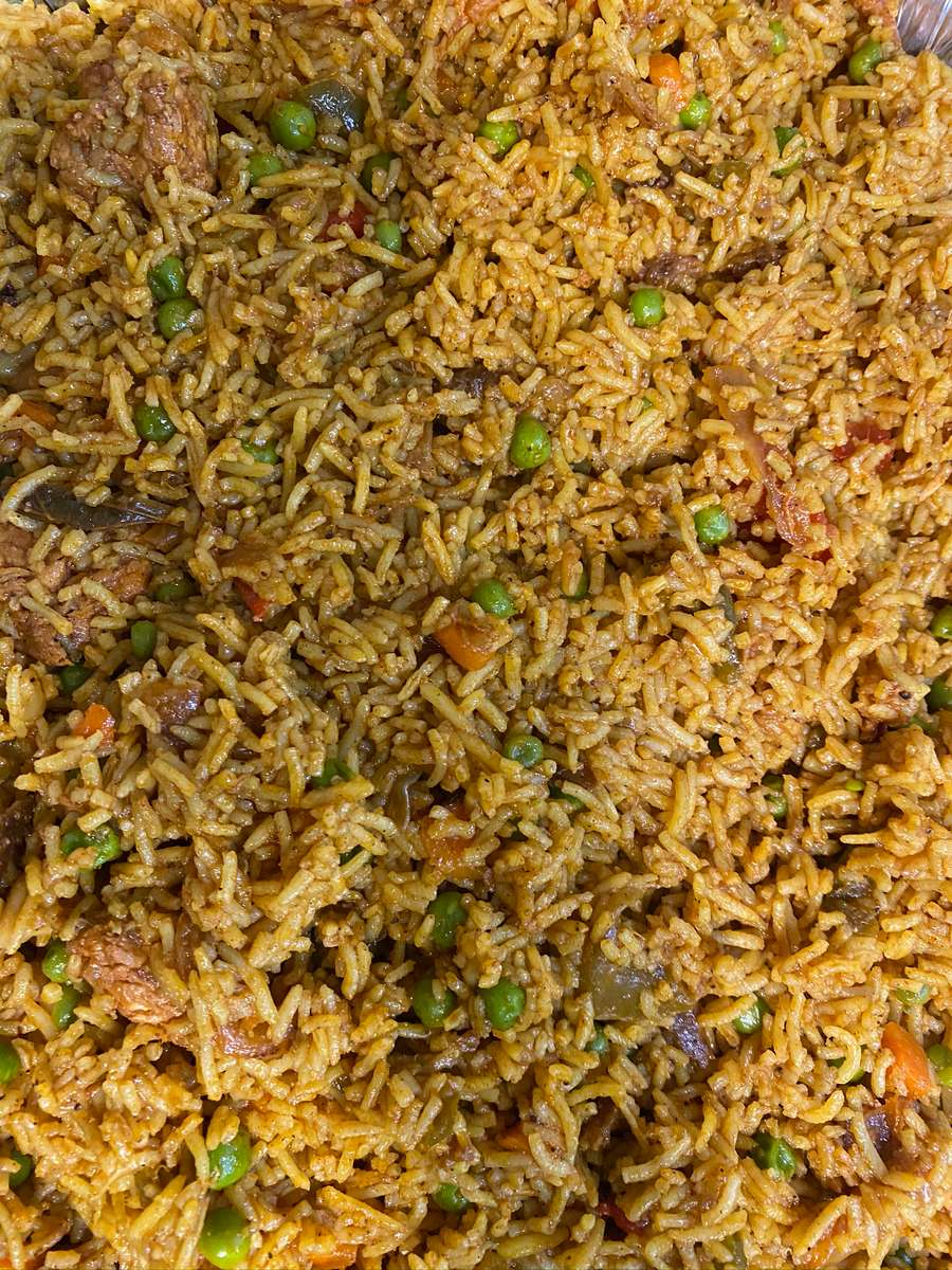 Rice with Peas and Carrots