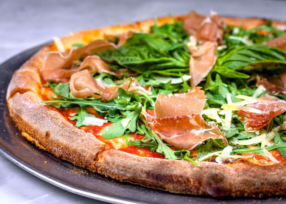 pizza arugula