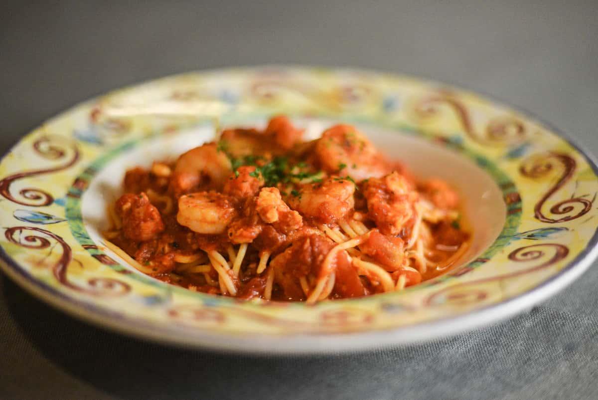 Lobster & Shrimp Palermo