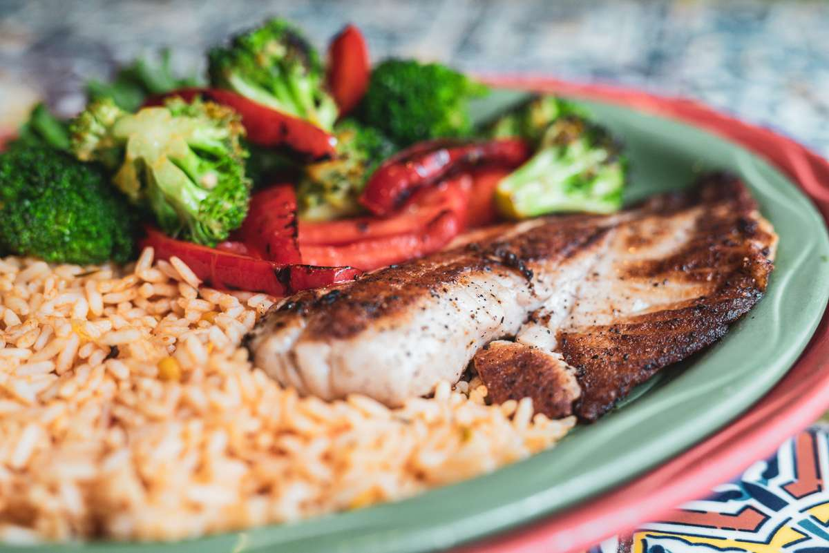 Grilled Talapia