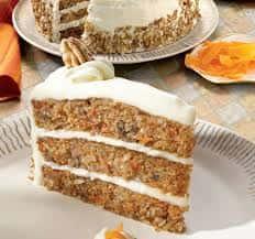 Chocolate or Carrot Cake
