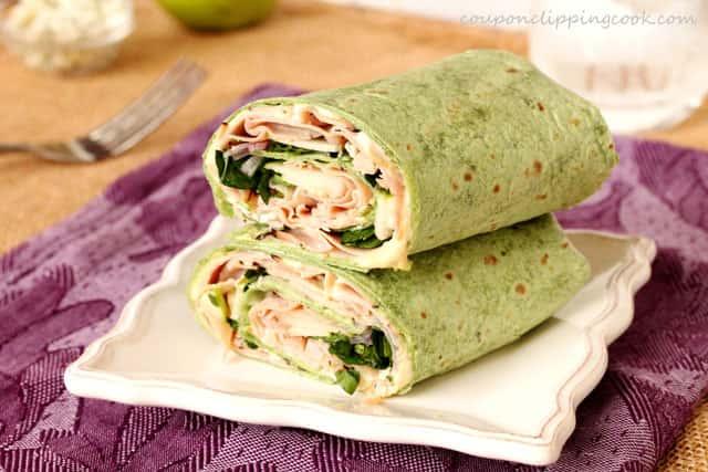 Turkey, Bacon, & Avocado Wrap