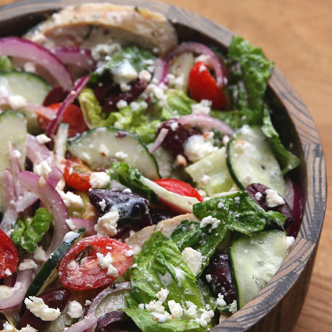 Mediterranean Veggie Salad