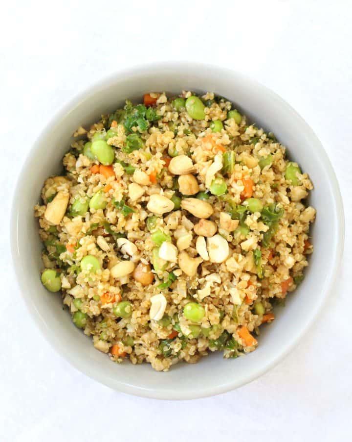 Cauliflower & Quinoa Fried Rice