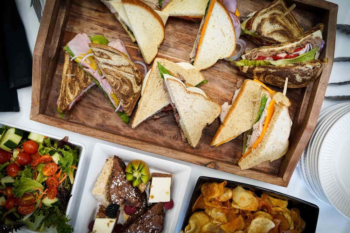 Gourmet Sandwich Display