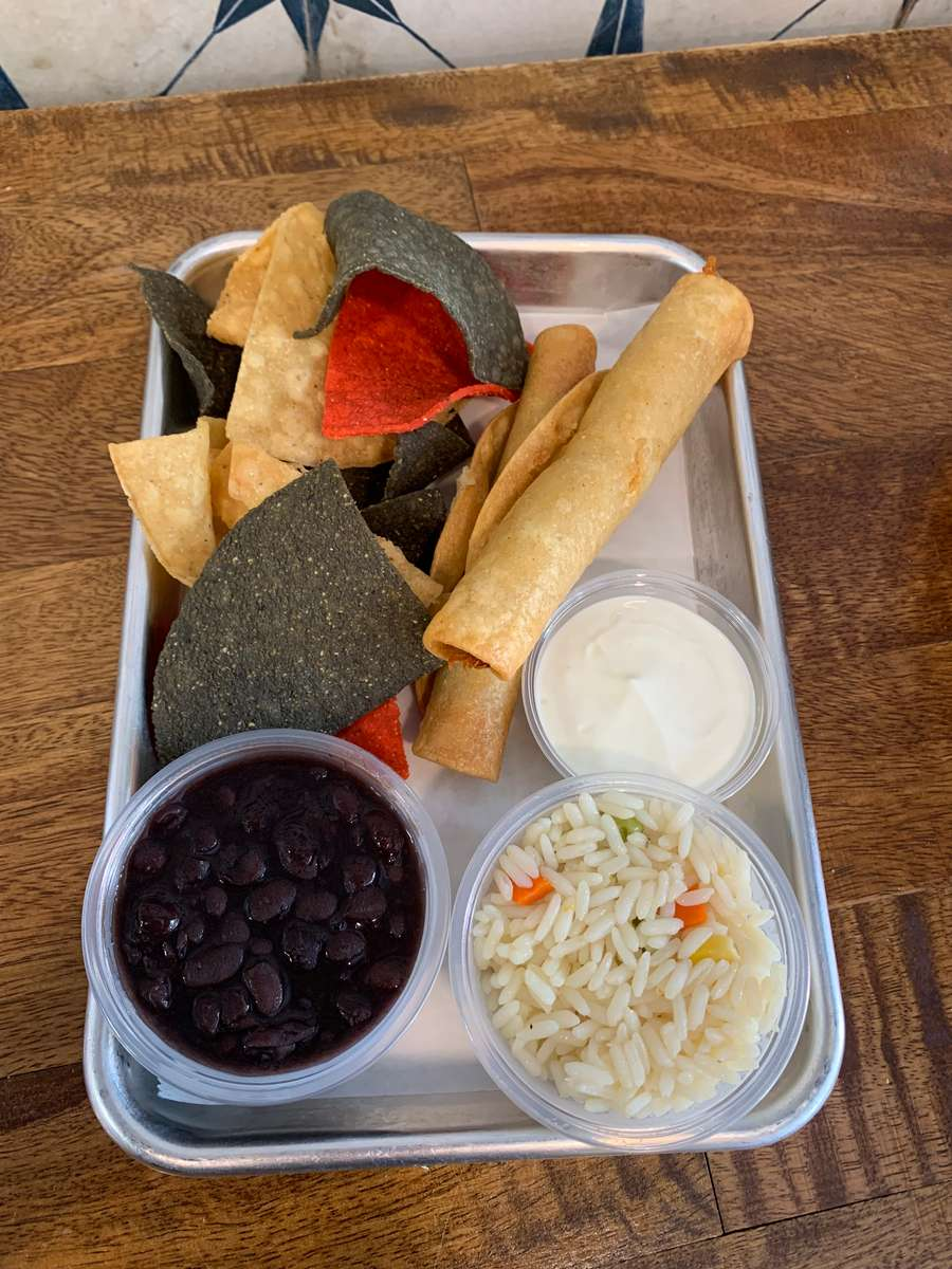 Kids Taquitos Meal