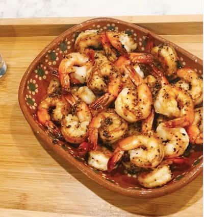 Chipotle Garlic Shrimp
