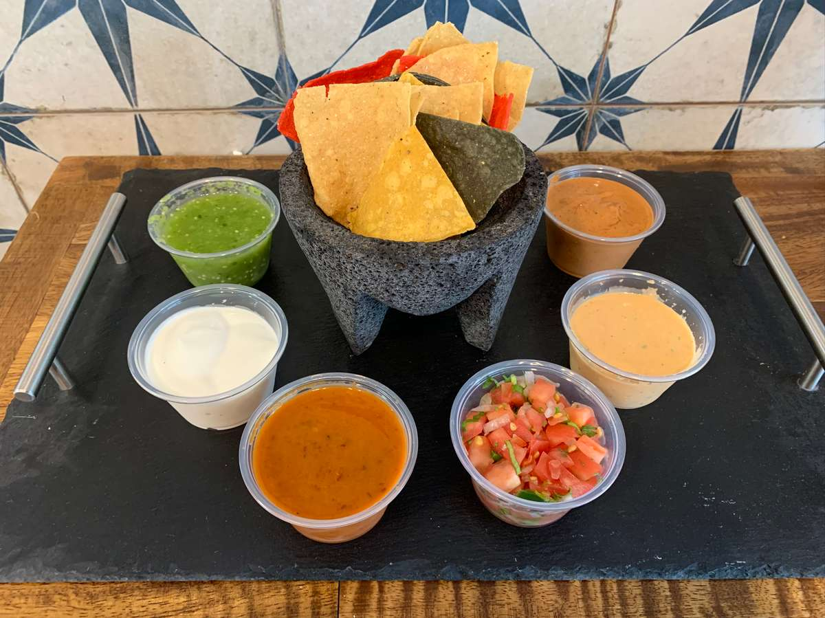 Small side of Salsa and Chips