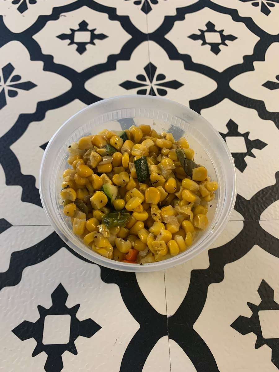 Roasted Corn and Peppers