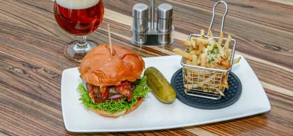 Bacon Burger*