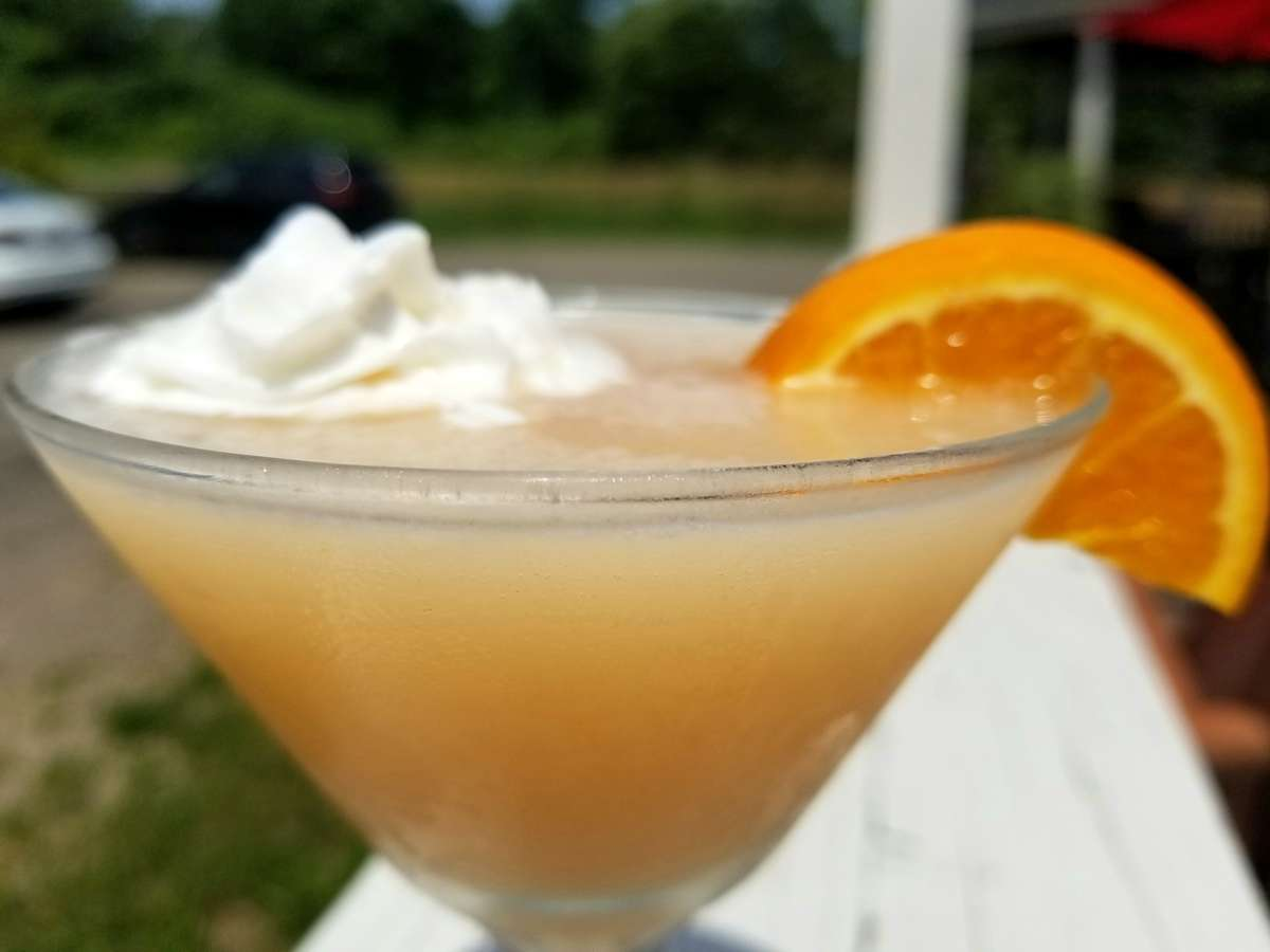 Dreamsicle Martini
