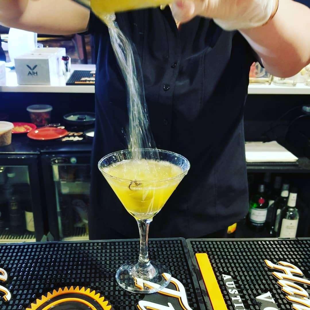 Hot & Dirty Martini