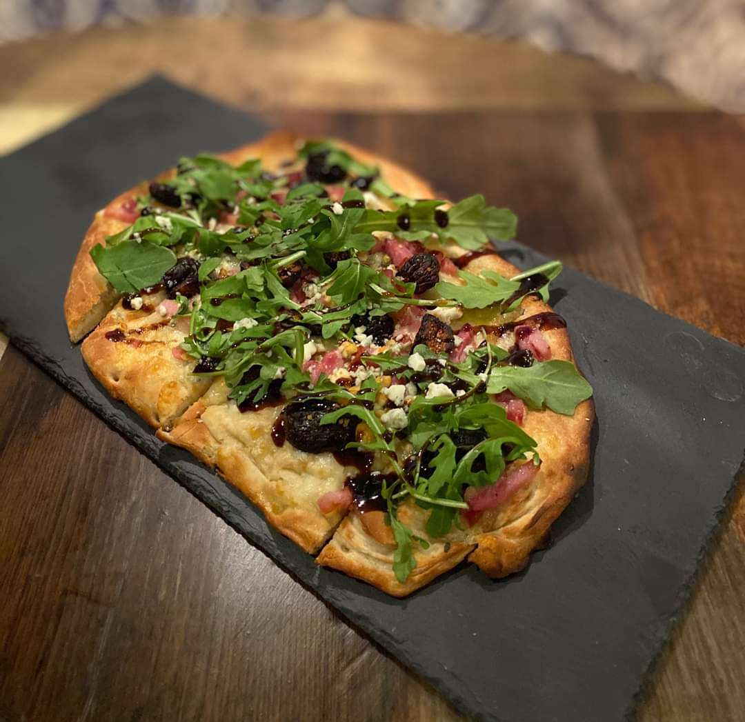 Fig and Pig Flatbread