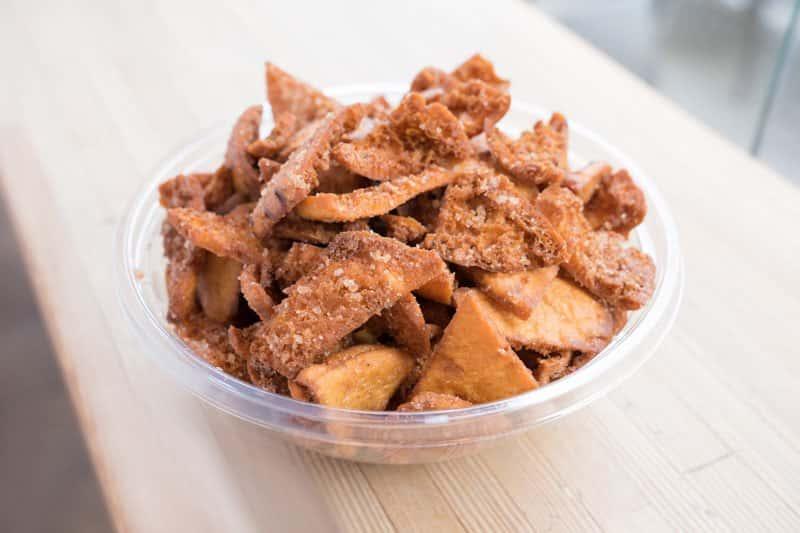Cinnamon Toast Pita Chips