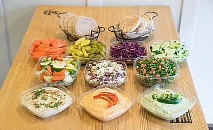 Vegetarian Platter Plus