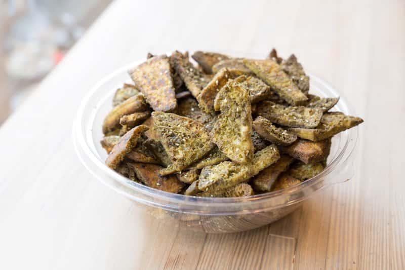 Zatar & Garlic Pita Chips