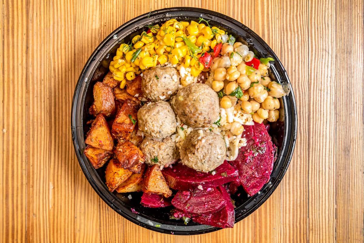 Turkish Meatballs Bowl