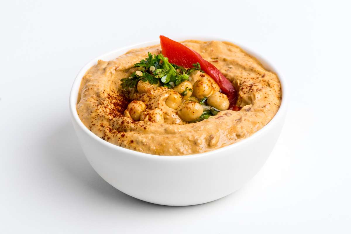 Spicy Pepper Hummus