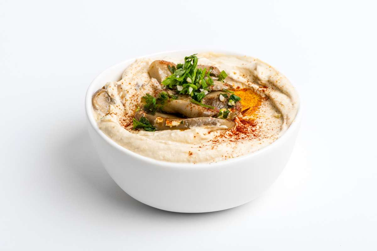 Mushrooms Hummus
