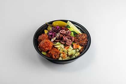 Vegan Meatballs Mini Bowl