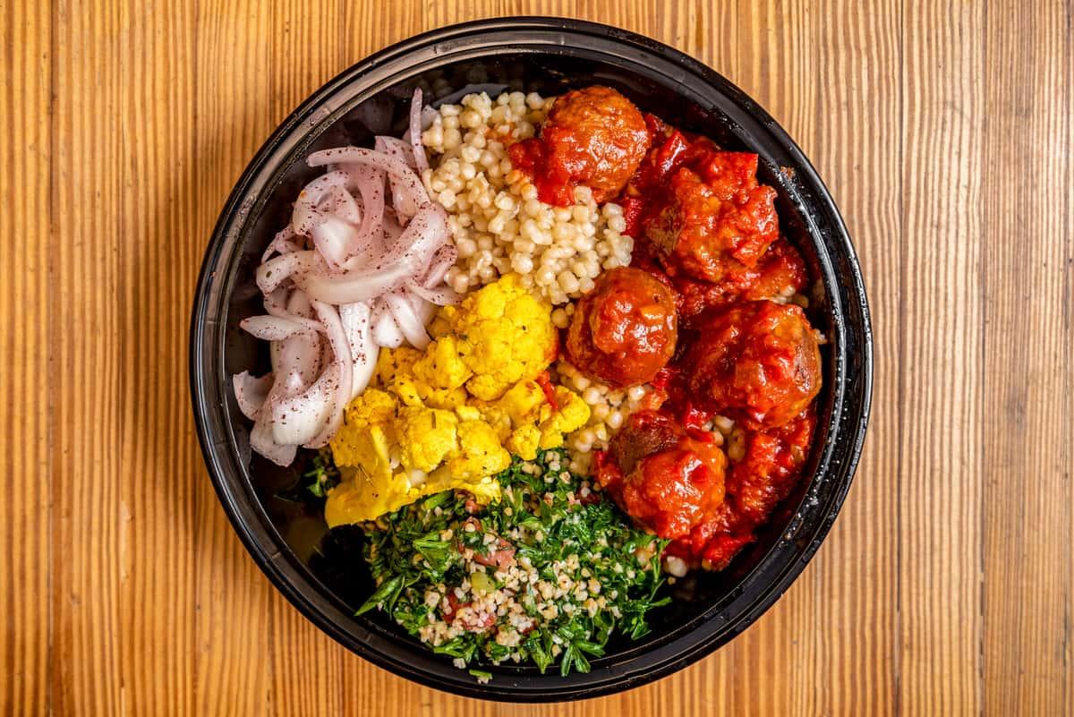 Vegan Meatballs Bowl