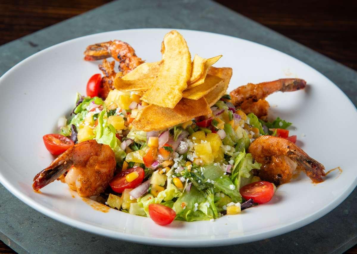 Honey Lime Shrimp Salad (TX)