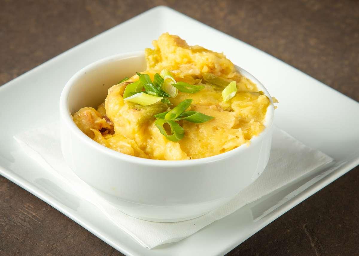 Roasted Garlic Yukon Mashed Potatoes
