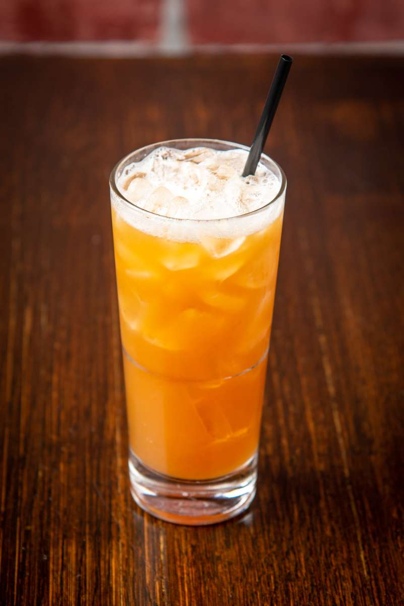 Nitro Peach Tea
