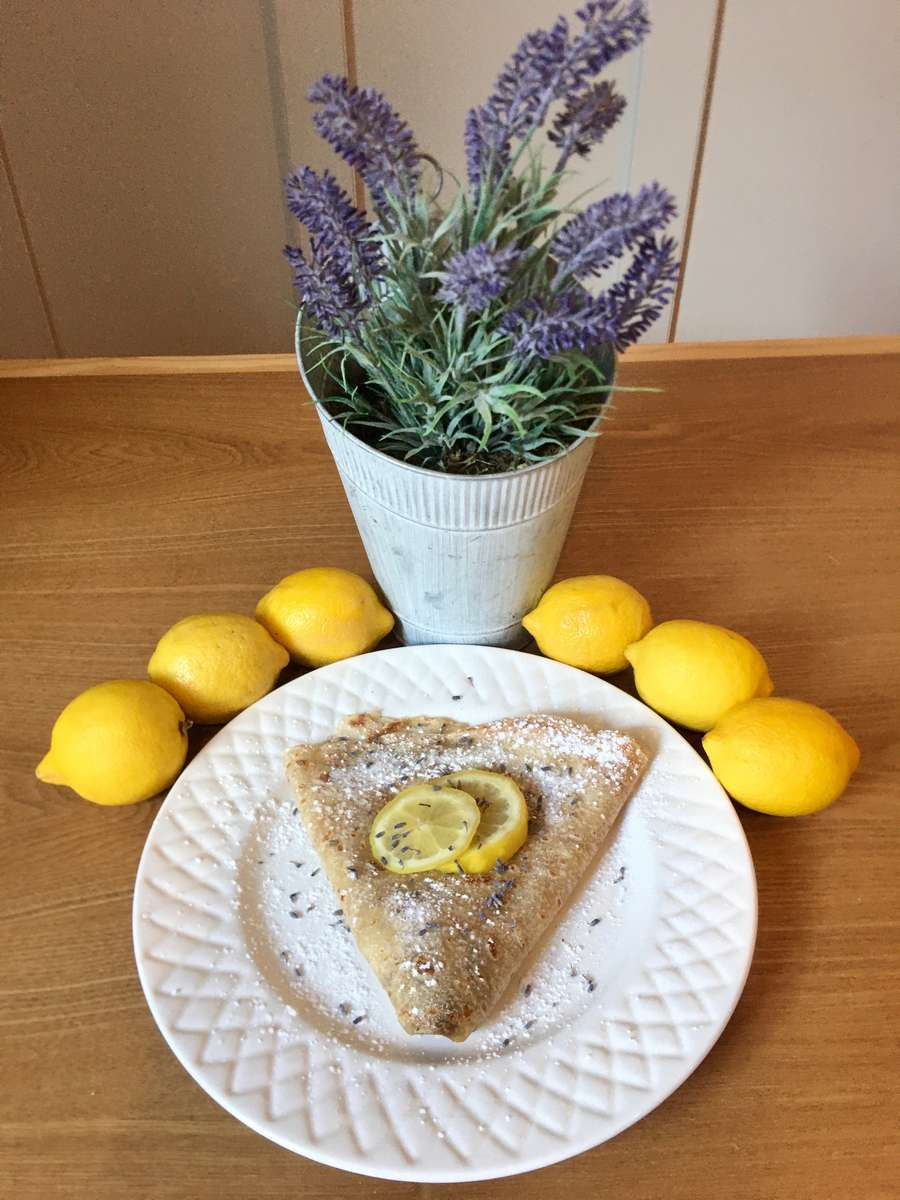 Lavender Sugar & Lemon Juice