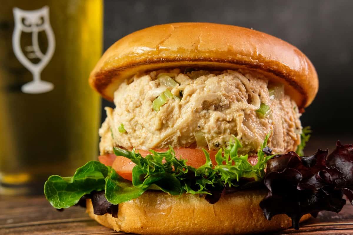 Smoked Chicken Salad Sandwich