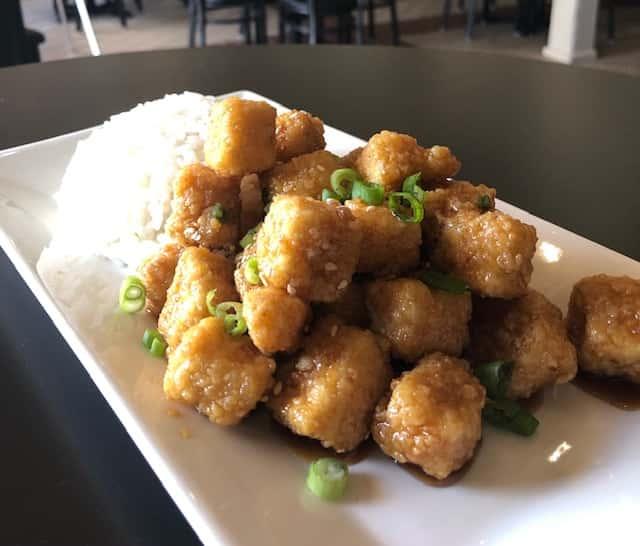 Crispy Tofu K-Pops