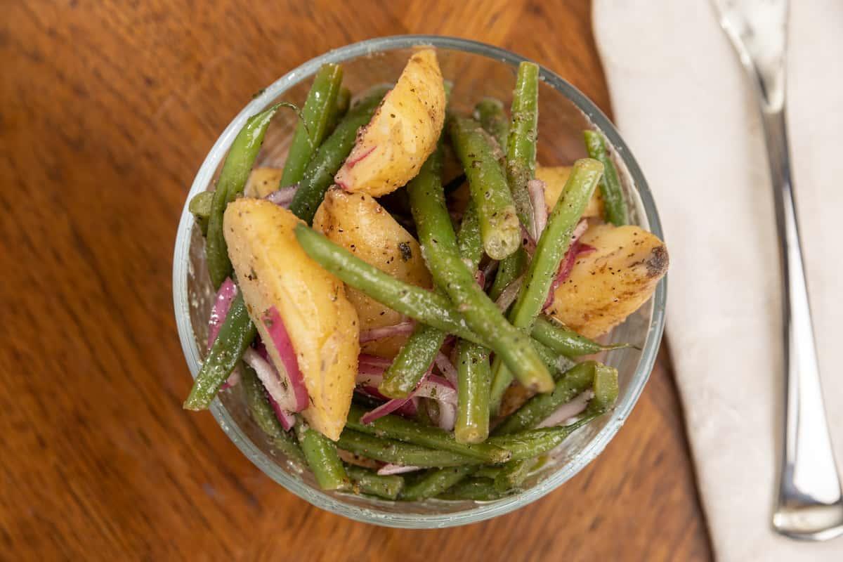 Potato and String Bean Salad