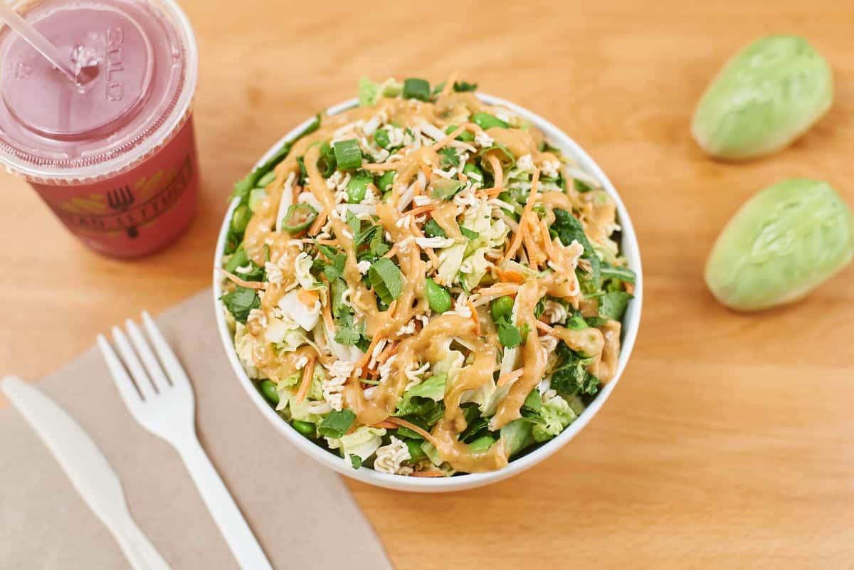 miso ginger salad
