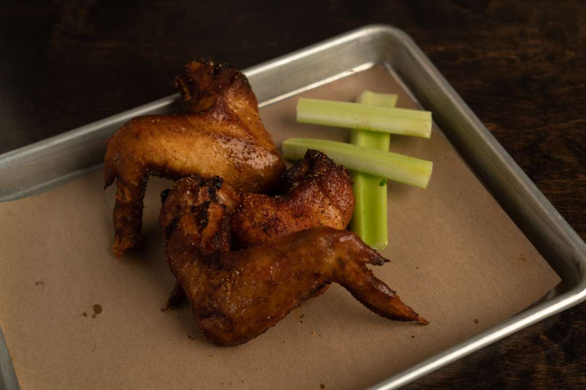 Smoked Fried Chicken Wings