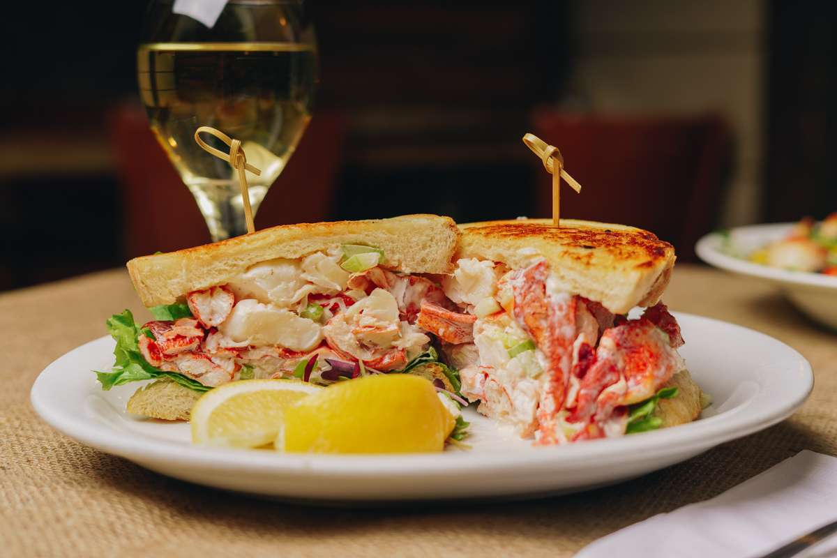 Lobster Salad Sandwich