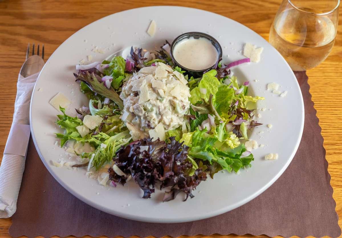 Almond & Cranberry Chicken Salad