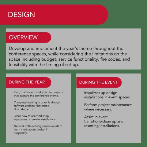 Design Department Description