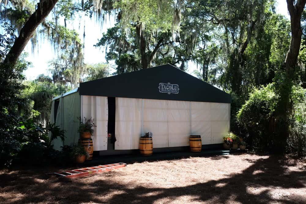 pre event tent