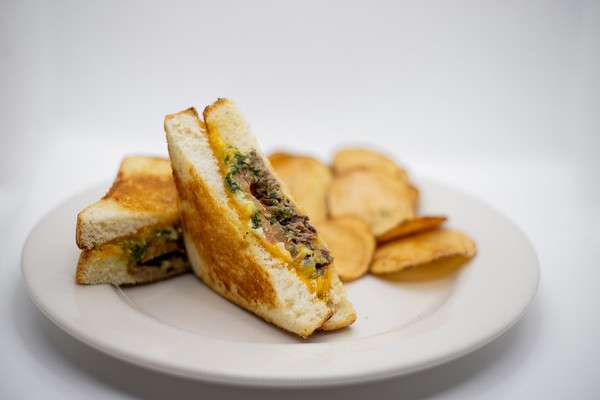 Grilled Cheese with Short Rib