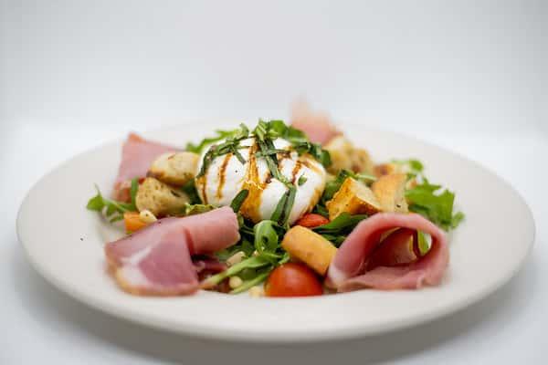 Seasonal Burrata Salad