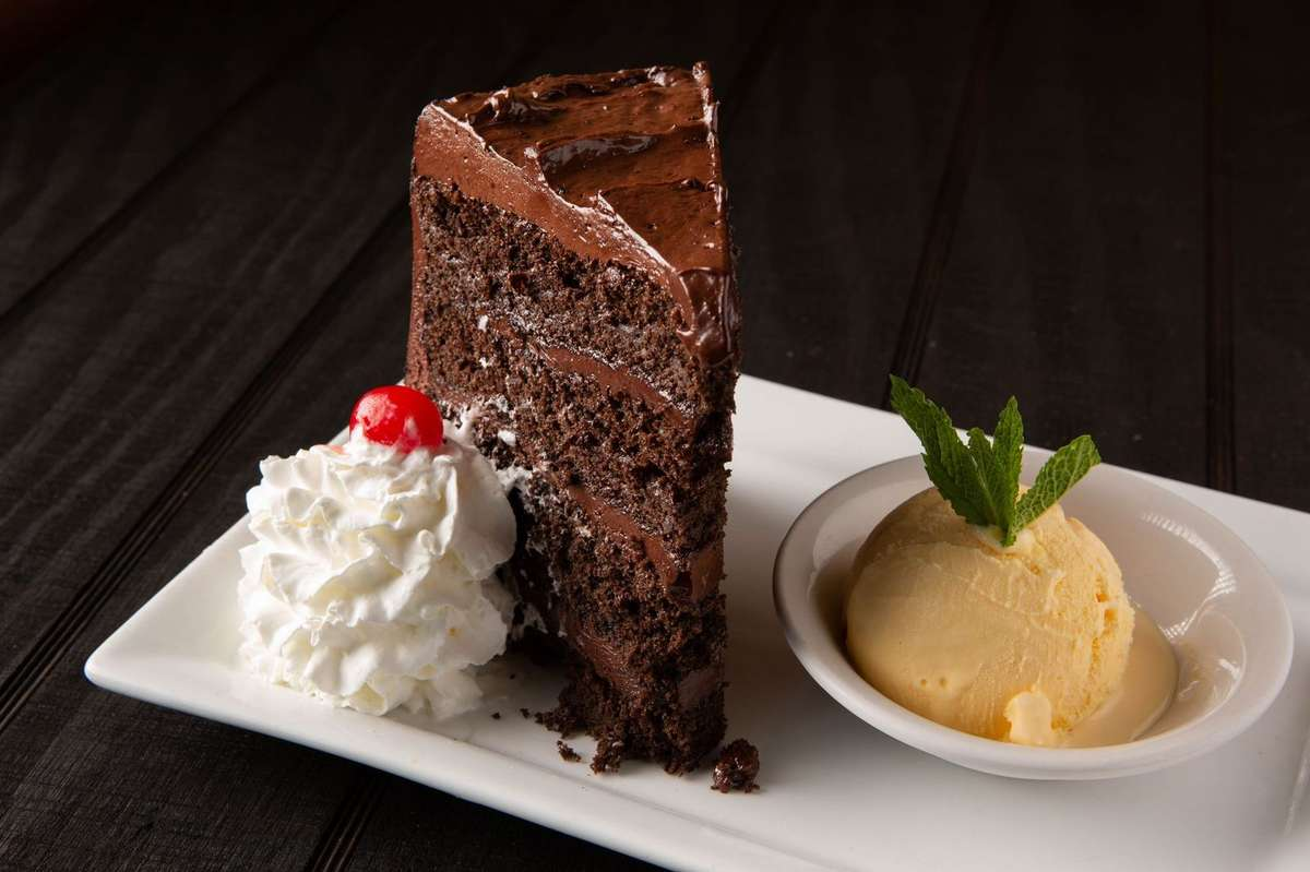 Towering Chocolate Cake