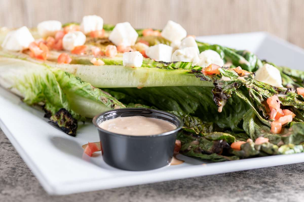 Char-Grilled Romaine
