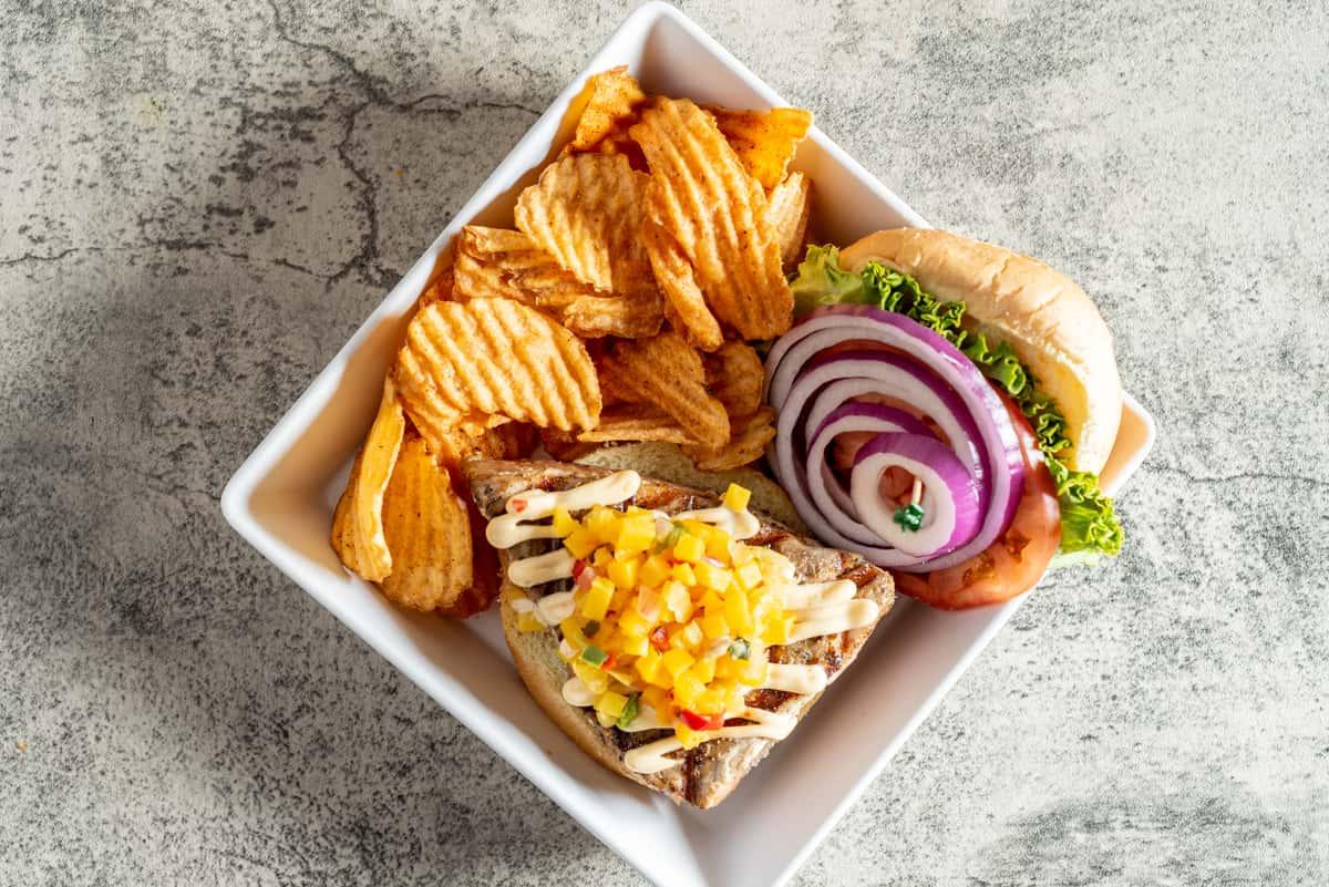 Tiki Tuna Sandwich*